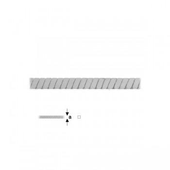 СИНДЖИР КВАДРАТ 1,05 mm АG 925