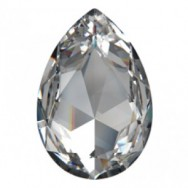4327 PEAR DROP  SWAROVSKI ELEMENTS