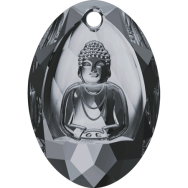 6871 Buddha Pendant Swarovski Crystals