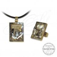 Комплект CAVSI Бял кристал