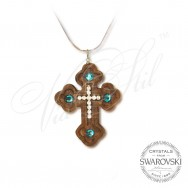 Necklace Cyan Faith