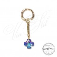 Key holder Cross Heliotrop 6866