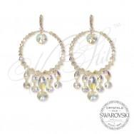 Earrings Luxury Oval AB