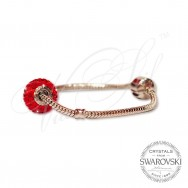 Bracelet 'Be Charmed' with Swarovski crystals