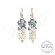 Earrings - Crystal Waterfall ABDEN