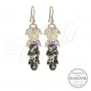 Earrings Crystal Waterfall ABSN