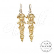 Earrings Crystal Waterfall GSHA