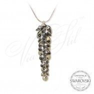 Necklace Crystals Waterfall SN