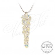 Necklace Crystal Waterfall AB