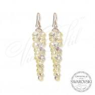 Waterfall Crystal Earrings AB