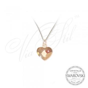 Колие Сърца Rose Gold 2808