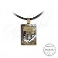 Necklace CAVSI White crystal