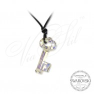 Necklace Crystal Key AB