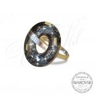 Ring Disk Silver Night