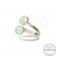Ring Xirius White Opal