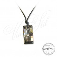 Rectangle Necklace -6696-SN
